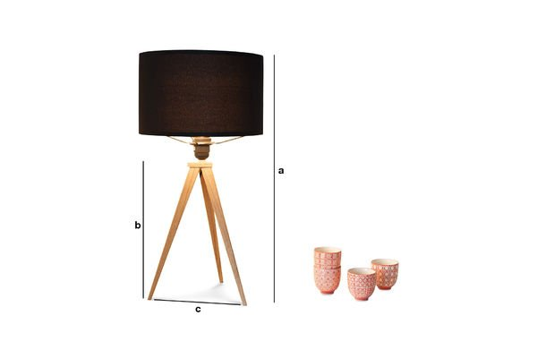 Dimensiones del producto Lámpara de mesa Kavinskï