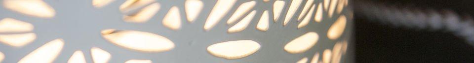 Descriptivo Materiales  Lámpara de mesa Lënie