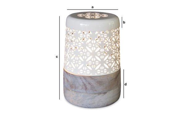 Dimensiones del producto Lámpara de mesa Lënie