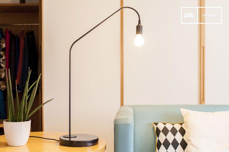 Una línea delgada para una luz personalizable