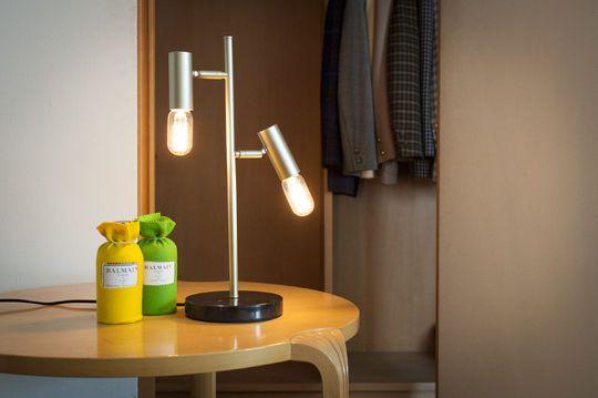Lámpara de mesa retro Lubeck