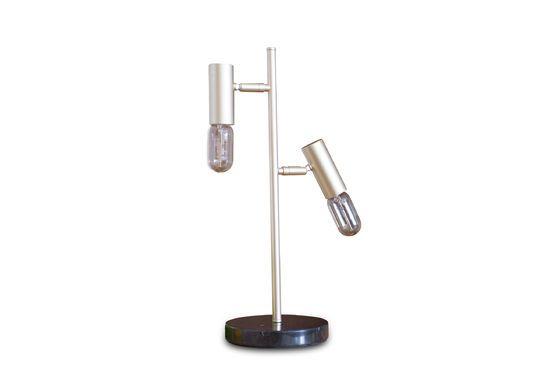 Lámpara de mesa retro Lubeck Clipped
