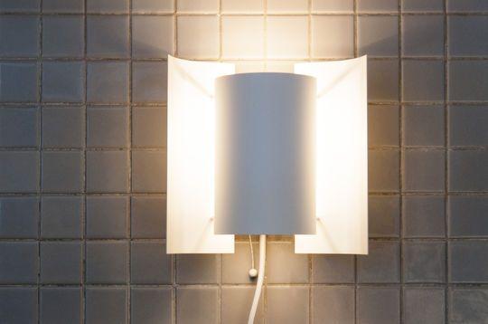 Lámpara de pared acabado blanco Butterfly