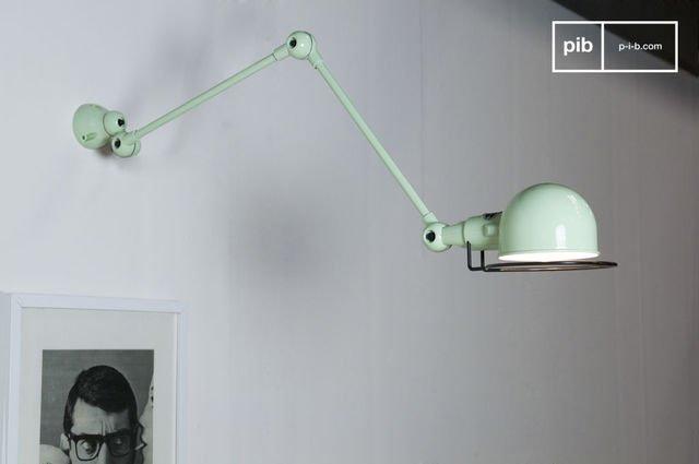 Lámpara de pared aguamarina Jieldé