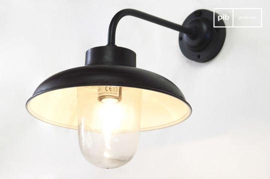 Lámpara de pared angular