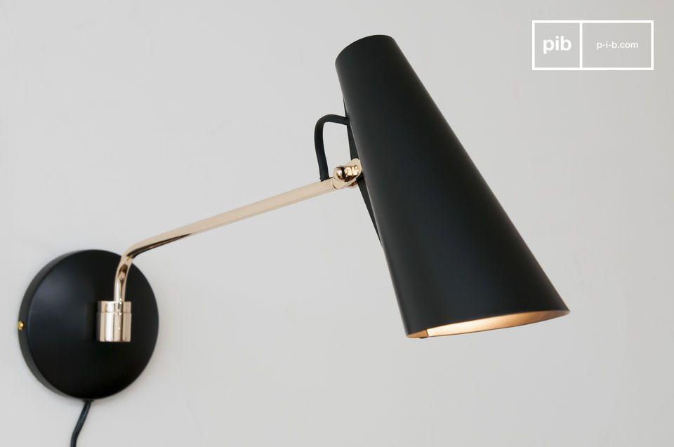 Una lámpara de diseño con un delicioso estilo vintage