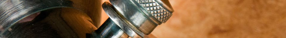 Descriptivo Materiales  Lámpara de pared Bistró
