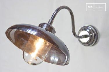 Lámpara de pared cuello de cisne