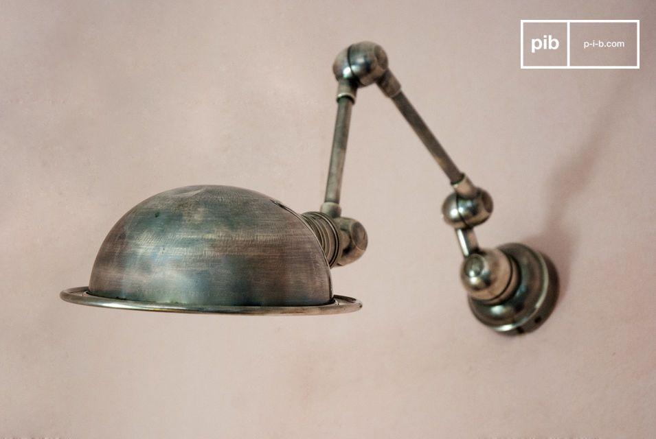 Dos brazos articulados, diseño típico del espíritu industrial