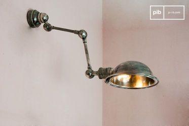 Lámpara de pared estilo herramienta