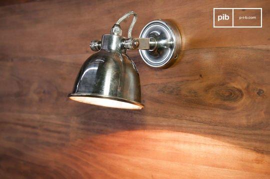 Lámpara de pared grande Bistro