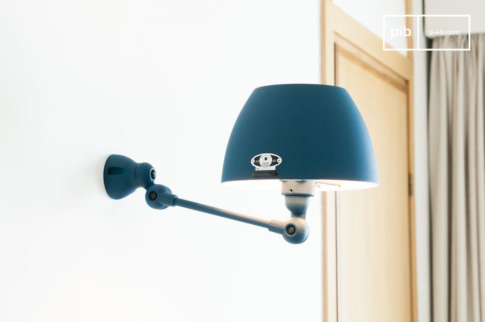 Lámpara de pared Jieldé Aicler azul océano