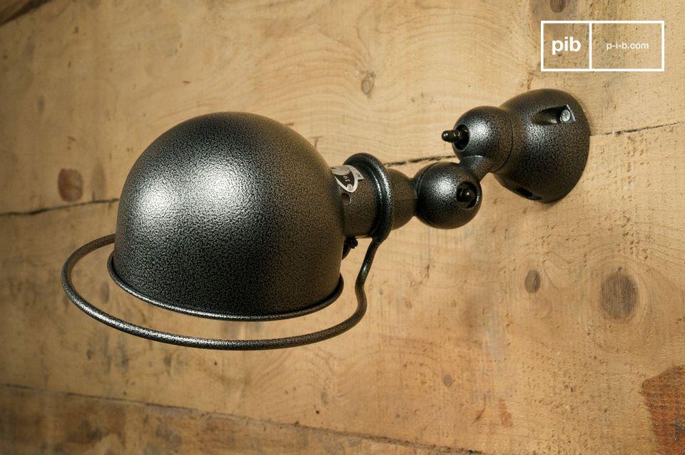 Lámpara de pared Jieldé Loft con acabado martillado