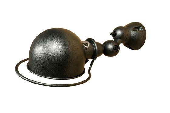 Lámpara de pared Jieldé Loft con acabado martillado Clipped