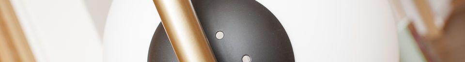 Descriptivo Materiales  Lámpara de pie 4 lámparas Cañaveral