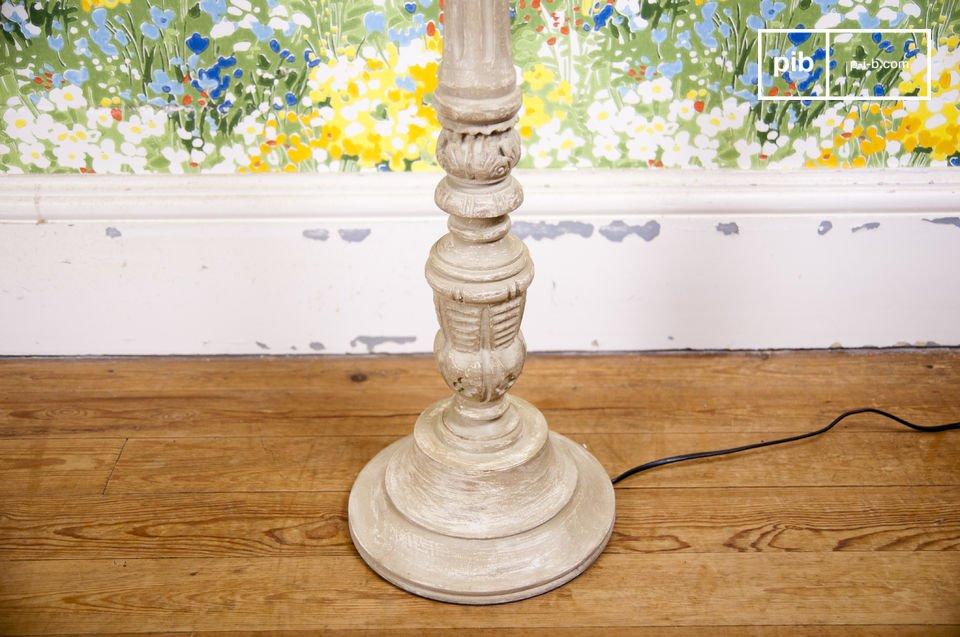 Una lámpara con estilo retro-chic