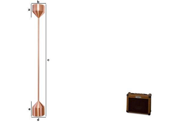 Dimensiones del producto Lámpara de piso Käsipa