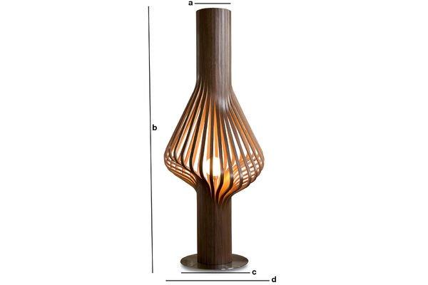 Dimensiones del producto Lámpara de salón Diva