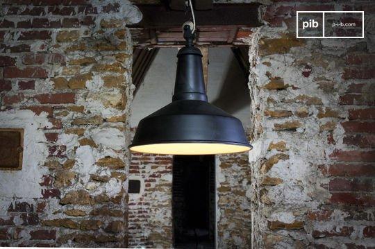 Lámpara de suspensión Black Factory