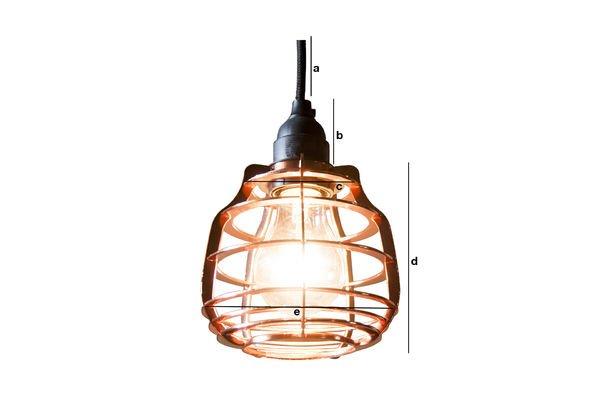 Dimensiones del producto Lámpara de suspensión Bristol
