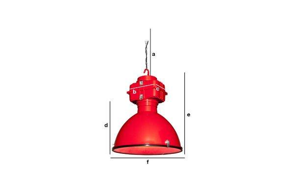 Dimensiones del producto Lámpara de suspensión Dock