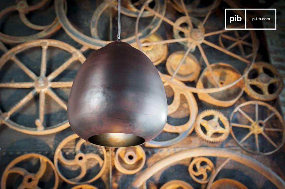 Lámpara de araña retro colgante con curvas