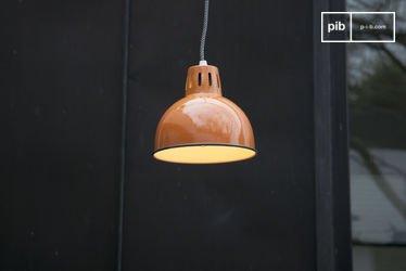 Lámpara de Suspensión SNÖL de color naranja