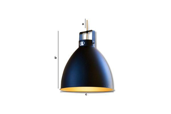 Dimensiones del producto Lámpara de techo Augustin Jieldé