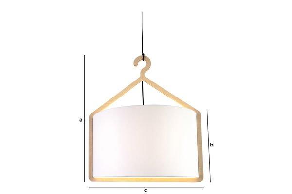 Dimensiones del producto Lámpara de techo Cintrée