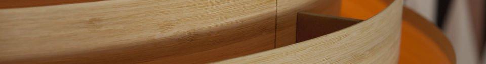 Descriptivo Materiales  Lámpara de techo de bambú