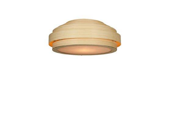 Lámpara de techo de bambú Clipped