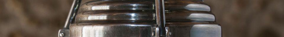 Descriptivo Materiales  Lámpara de techo de cristal Hoonui
