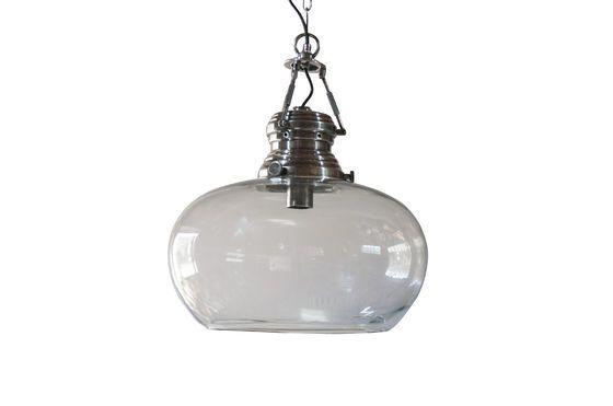 Lámpara de techo de cristal Hoonui Clipped