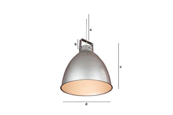 Dimensiones del producto Lámpara de techo Jieldé Augustin