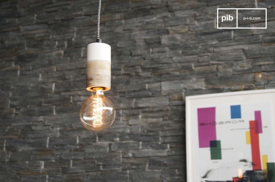 Una luz pequeña con un diseño delicado