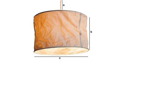Dimensiones del producto Lámpara de techo Newport
