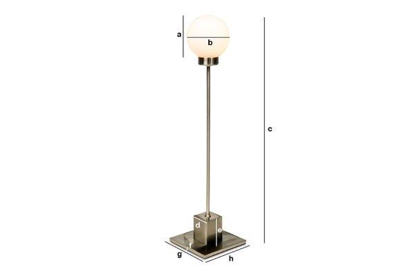 Dimensiones del producto Lámpara Douglas