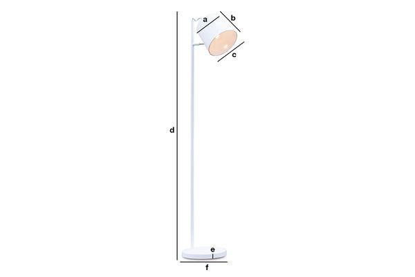 Dimensiones del producto Lámpara Elküb