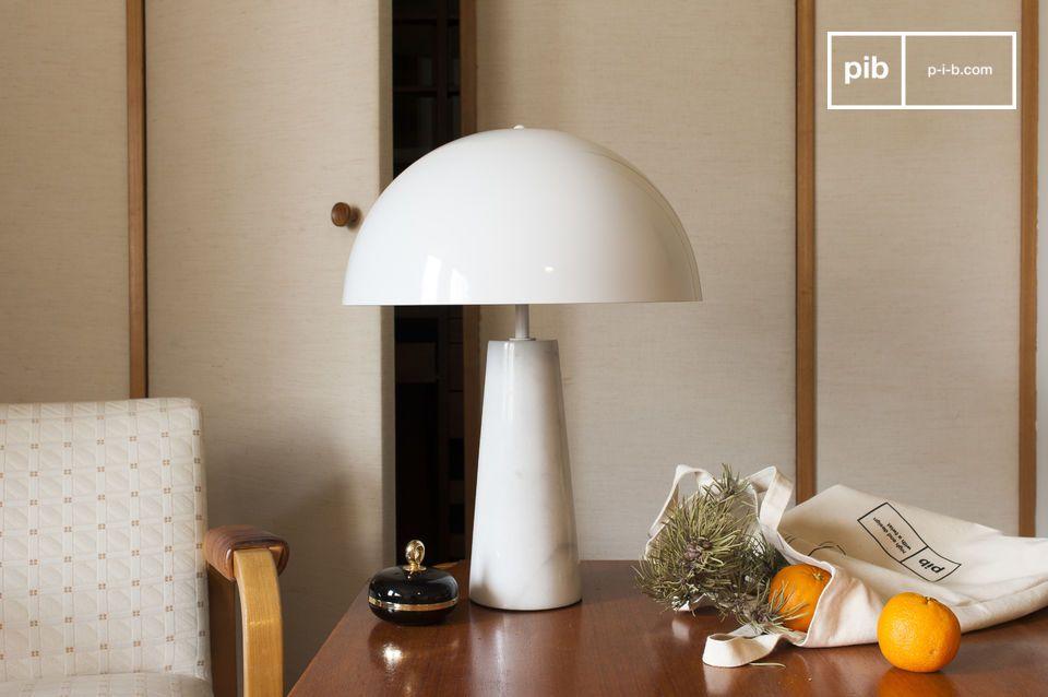 Lámpara en forma de hongo de estilo clásico para mesa o escritorio