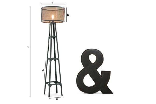 Dimensiones del producto Lámpara estándar Hornby