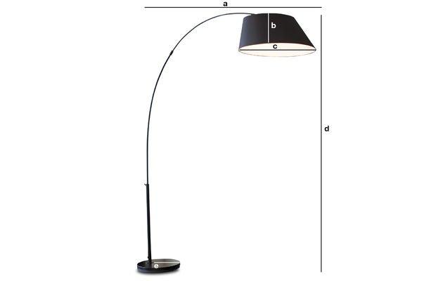 Dimensiones del producto Lámpara estándar Nexö
