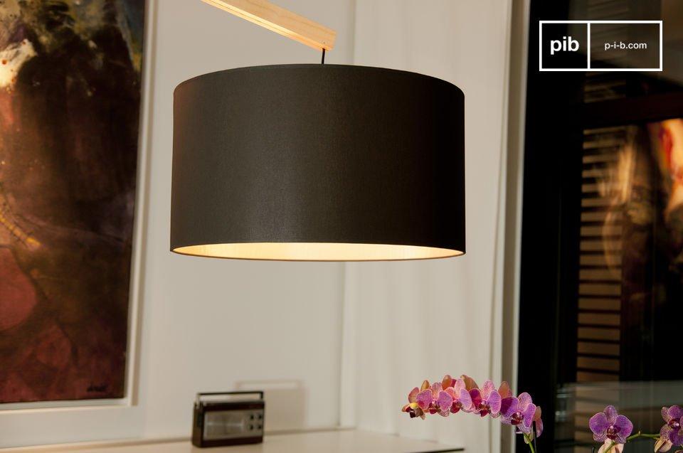 Estas lamparas de pie de madera con todo el estilo escandinavo real están hechas de madera de haya
