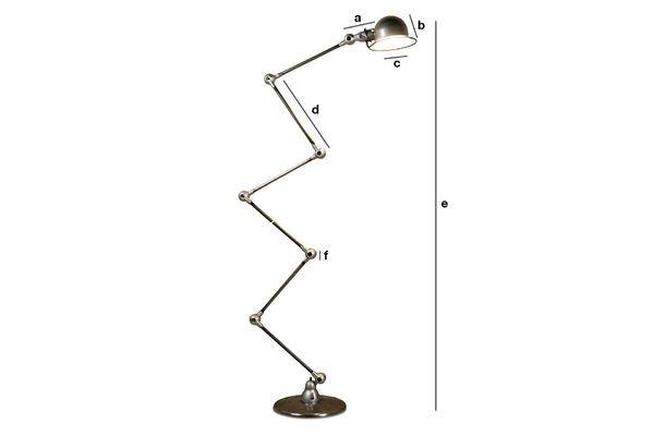 Dimensiones del producto Lámpara Jieldé Loft