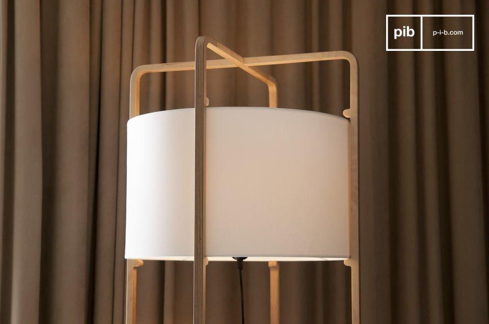 Elegante lámpara con diseño escandinavo