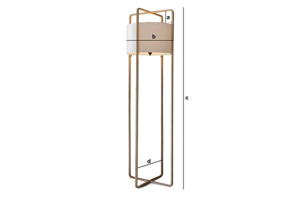 Dimensiones del producto Lámpara Maspo