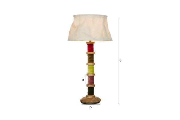 Dimensiones del producto Lámpara Mercery