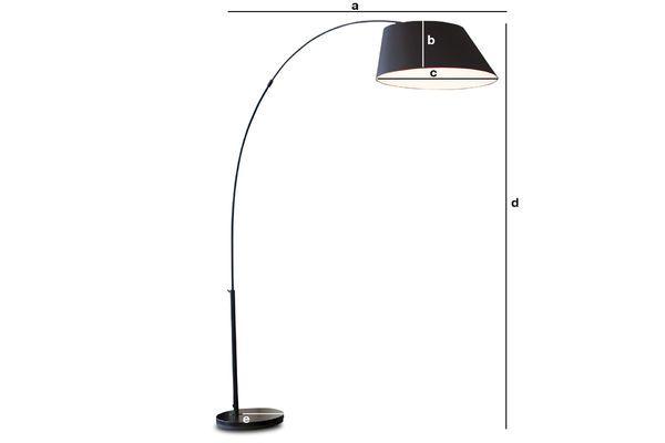 Dimensiones del producto Lámpara Nexö