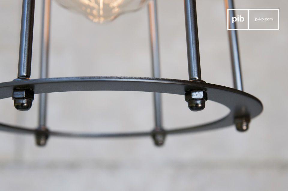 Lámpara decorativa para colgar en estilo industrial chic