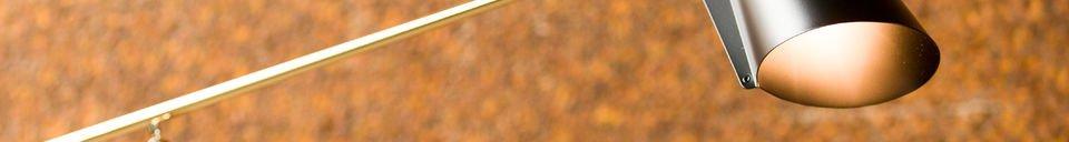 Descriptivo Materiales  Lámpara para leer Memphis