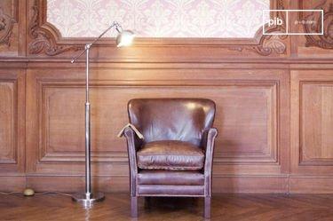 Lámpara para leer metálica ajustable